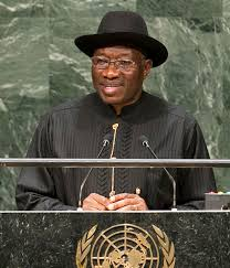 Let see Politic as a process to serve the people, not war- Dr. Goodluck Jonathan