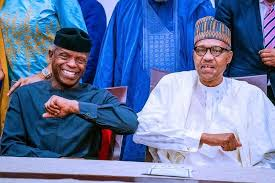 I'm proud to have picked you as my VP – Buhari heap praises on Osinbajo @ 64,
