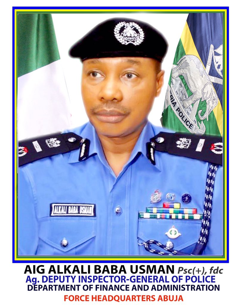 Change of Guard in the Nigeria police formations