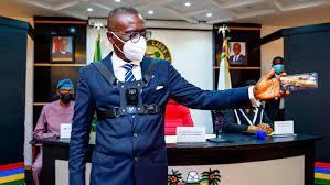 Policing in Lagos goes Digital, as security personnel begins the wearing of body cameras-Gov. Sanwo-Olu