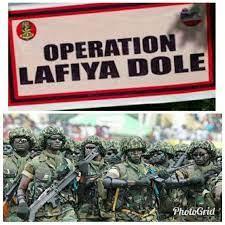 Nigeria Army to Renames  Operation Lafiya Dole Northeast's to Operation Hadin Kai