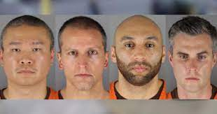 Four Ex-Police Officers Charged with Violating Civil Rights in George Floyd Death