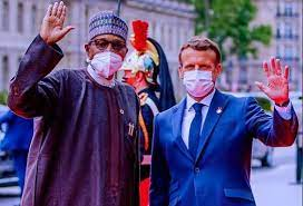 Buhari In France: Seeks Debt Relief, More Vaccines For African Countries