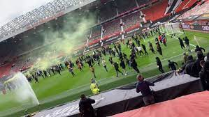 Man Utd vs Liverpool Match Postponed After anti-Glazer Protesters Storm Old Trafford Pitch