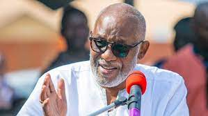 Governor Oluwarotimi Akeredolu of Ondo State has threatened to sanction any traditional ruler in the state
