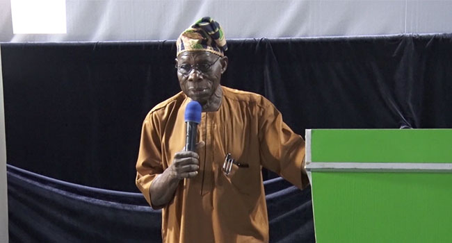 Nigeria Is Flowing With Bitterness And Sadness – Obasanjo