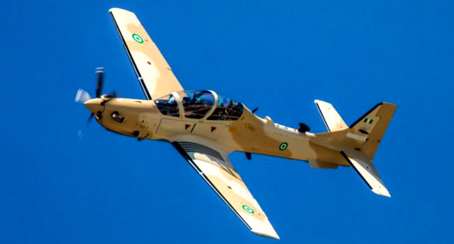 First Batch of A-29 Super Tucano Aircraft Leaves United State For Nigeria