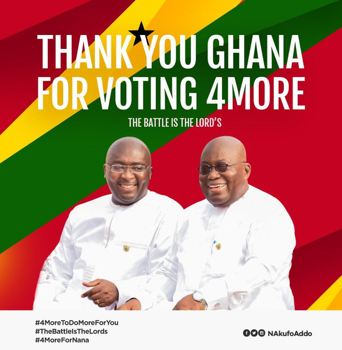 Done and Dusted, Ghana Elections 2020, Goes Into The Next Phase