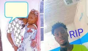 A girl 18 years old stabbed her elder brother to death for querying her whereabout- ondo state south west Nigeria.