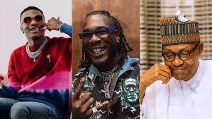 Buhari hails Wizkid, Burna Boy on Winning Grammy