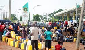 motorist and commuters stranded as Fuel scarcity hit Abuja.