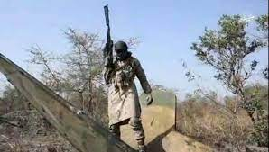 footage released by Boko Haram, showing downing of NAF fighter jet