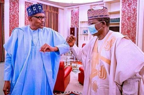 Buhari welcomes Gov. Matawalle into APC