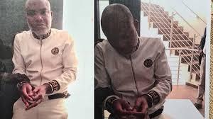 Nnamdi Kanu Rearrested, Brought Back To Nigeria