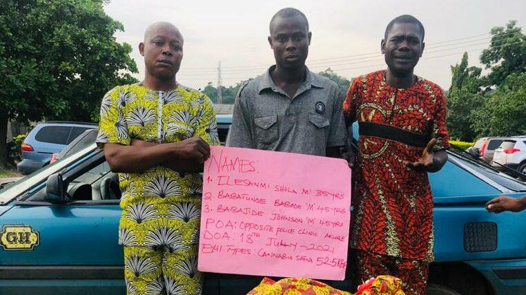 NURTW Chair, 3 Others Arrested For Drug Trafficking In Ondo, Benue