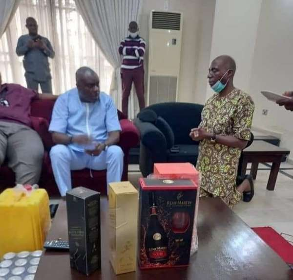 I knelt before Ibori because it is sign of respect in Urhobo culture – Senator James Manager