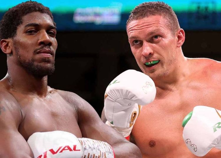 Anthony Joshua to Defend Title against Oleksandr Usyk in London on September 25