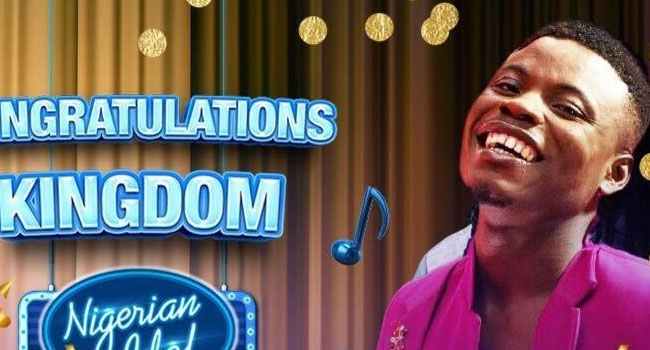 Kingdom Kroseide has emerged winner of the Nigerian Idol season 6 competition