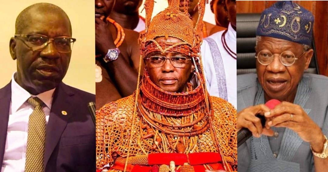 FG 'll take possession of Benin artefacts when returned: Lai Mohammed