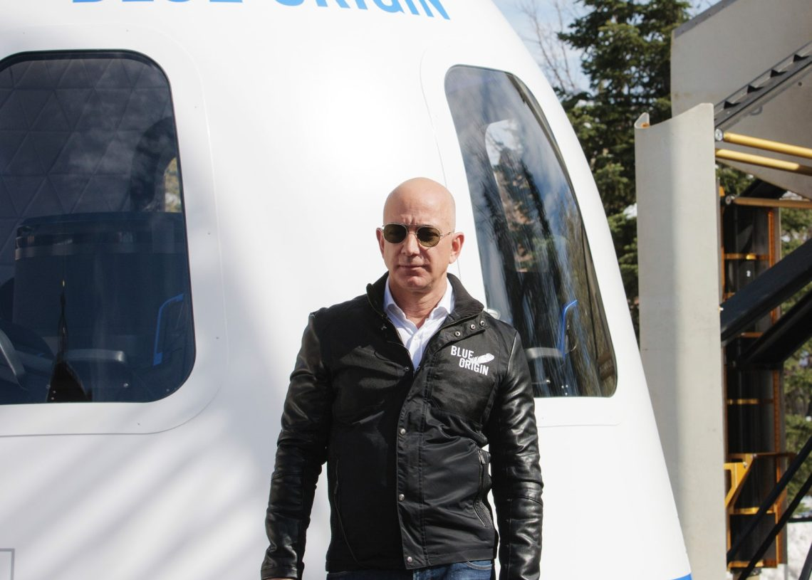 World's Richest Man Bezos Completes Successful First Space Jaunt