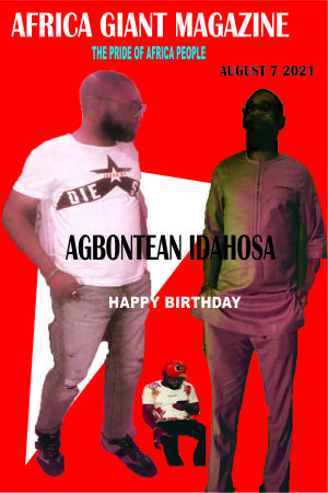 AGBONTEAN IDAHOSA, MARKS HIS BIRTHDAY WITH  STYLE.