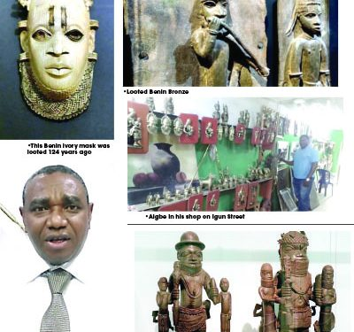 Nightmares for looted Benin artefacts