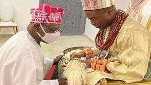 Obasanjo, Okowa task Olu of Warri on unity