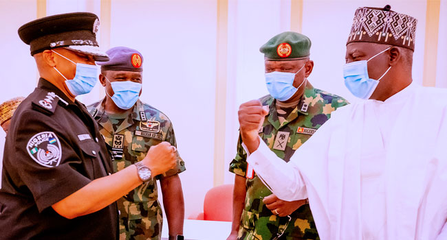 Find Tactics To Solve Security Challenge, Buhari Gives A Marching Order To Service Chiefs